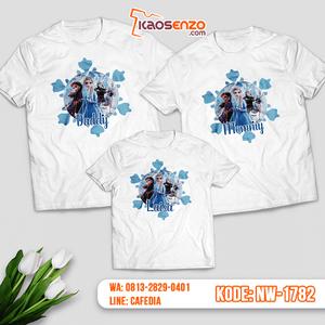 Baju Kaos Couple Keluarga Frozen   Kaos Family Custom   Kaos Frozen - NW 1782