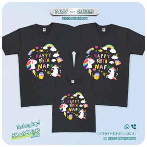 Baju Kaos Couple Keluarga Ice Cream | Kaos Family Custom | Kaos Ice Cream - NW 2619