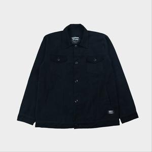 Alanzo Trucker Jacket - Black