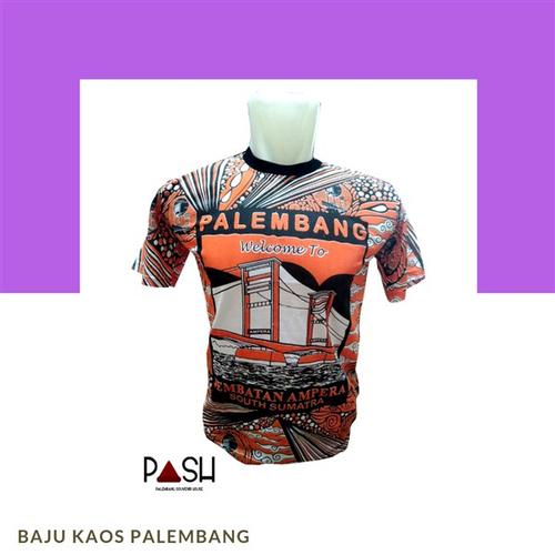 Baju Kaos Palembang Pria Dan Wanita Berbagai Size