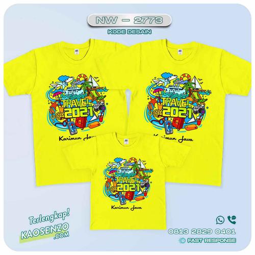 Baju Kaos Couple Keluarga Tahun Baru | Kaos Family Custom | Kaos Tahun Baru - NW 2773