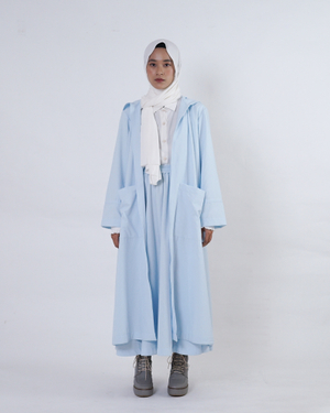 Belevia Outer | Light Blue | Saoirse Collection