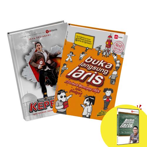 The Power of Kepepet + Buka Langsung Laris (+DVD)