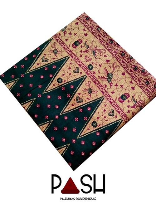 Kain Jupri Palembang Premium Warna Hijau