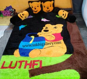 Karpet winnie the pooh duduk