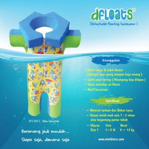 Minikinizz Dfloats Size 1 - Baju Renang Apung