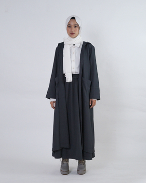 Belevia Outer | Charcoal Grey | Saoirse Collection