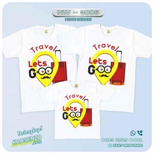 Baju Kaos Couple Keluarga Minion | Kaos Family Custom | Kaos Minion - NW 3006