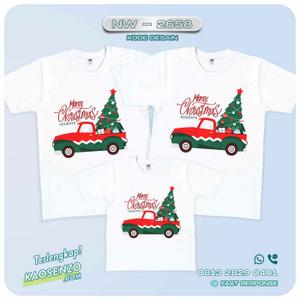 Baju Kaos Couple Keluarga Natal | Kaos Family Custom | Kaos Natal - NW 2658