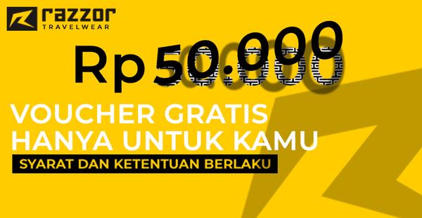 Bagi bagi voucher 50.000