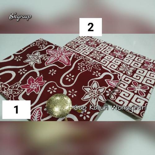 Cap Katun Wonogiren |Batik Cap Solo 0409