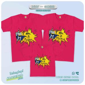 Kaos Couple Keluarga Batman | Kaos Ulang Tahun Anak | Kaos Batman - NW 3088
