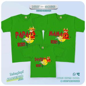 Baju Kaos Couple Keluarga Imlek | Kaos Family Custom | Kaos Imlek - NW 3066