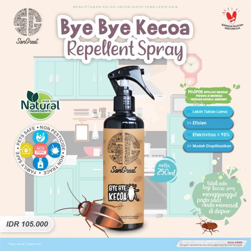 Pengusir Kecoa Penolak Kecoa SanGreat Bye Bye Kecoa Spray 250ml