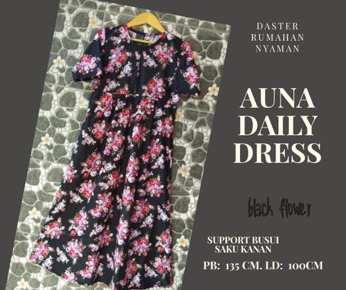 Auna Daily Dress katun Jepang Pb 135