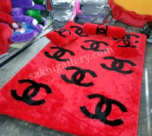 Karpet chanel merah hitam