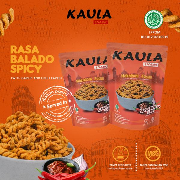 Kaula Makaroni Fusilli - Balado Spicy