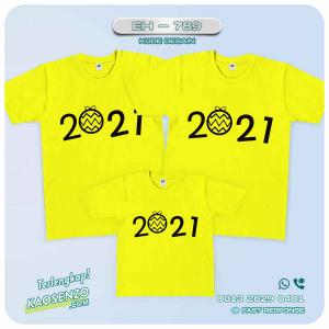 Baju Kaos Couple Keluarga | Kaos Family Custom Tahun Baru - EH 789