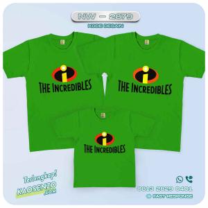 Kaos Couple Keluarga   Kaos Ulang Tahun Anak The Incredibles - NW 2879