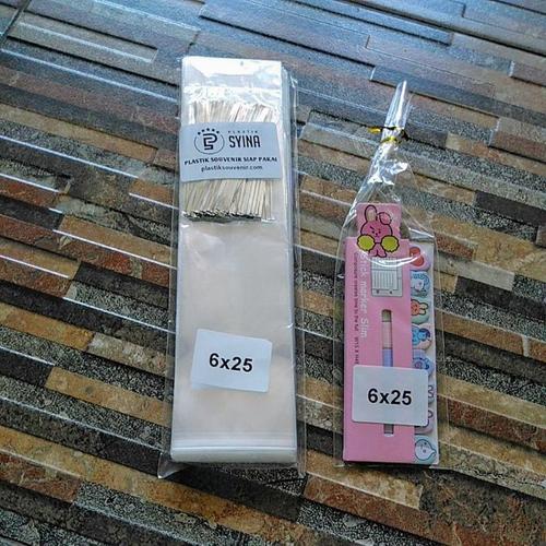 6x25 Plastik Tebal Khusus Souvenir Pesta, Hajatan Ulang Tahun, Pernikahan dan Syukuran