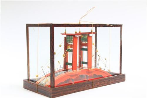 Miniatur Jembatan Ampera Palembang Kaca Lampu