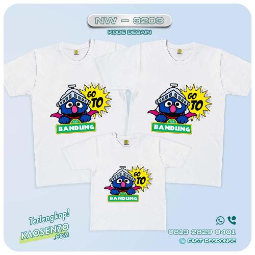 Baju Kaos Couple Keluarga | Kaos Ulang Tahun Anak | Kaos Elmo - NW 3203