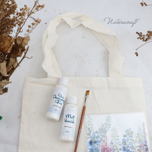 DIY Kit Decoupage on Tote bag